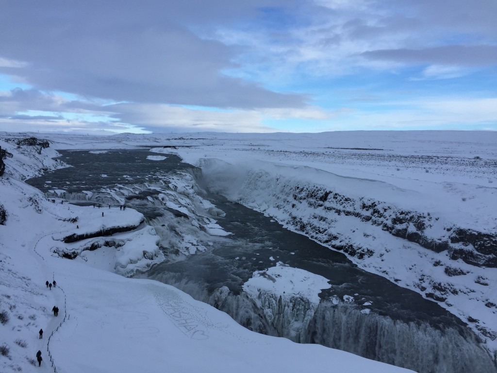 Gullfoss Island - Der Golden Circle