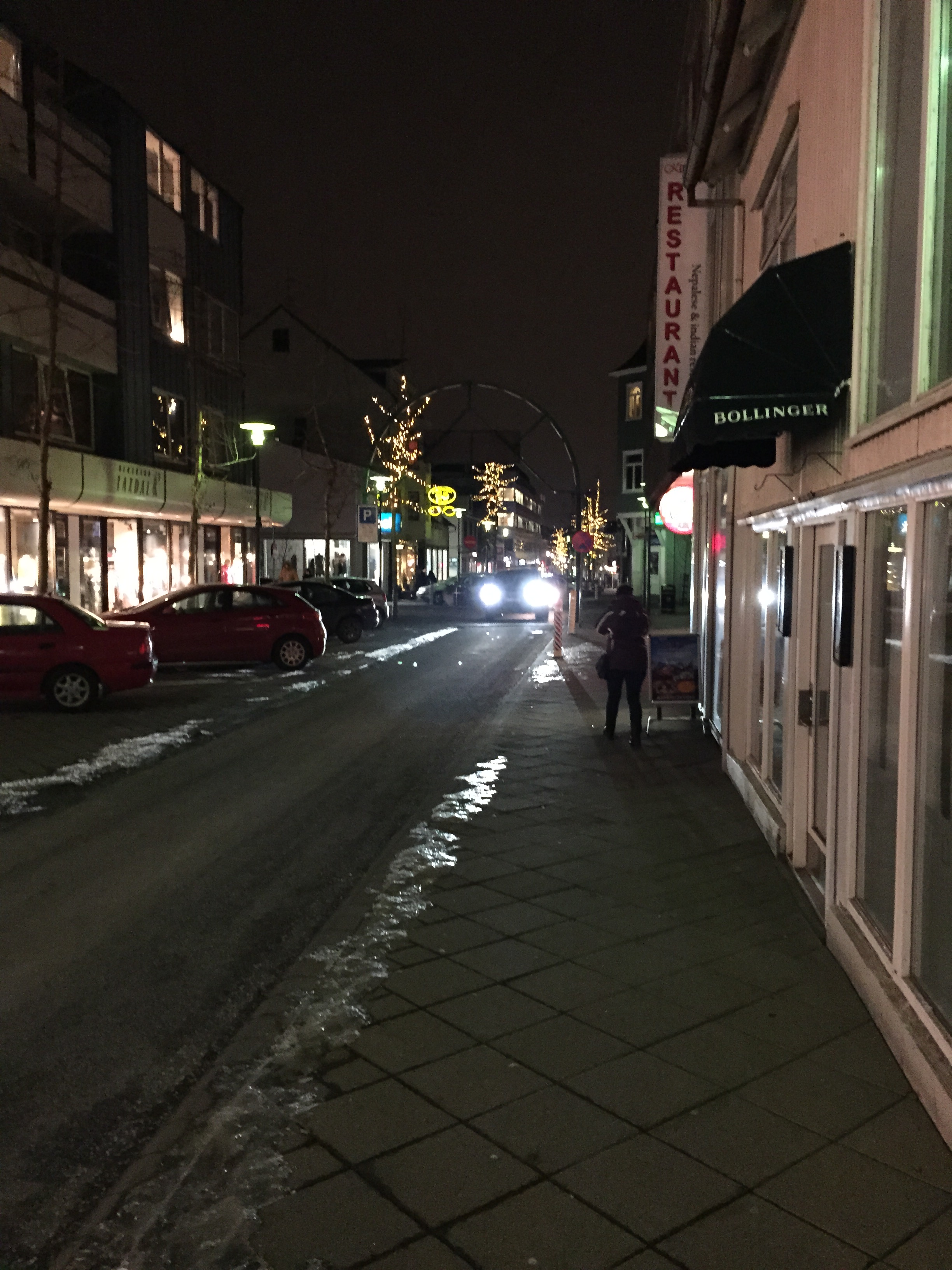 Ankunft auf Island - Reykjavik