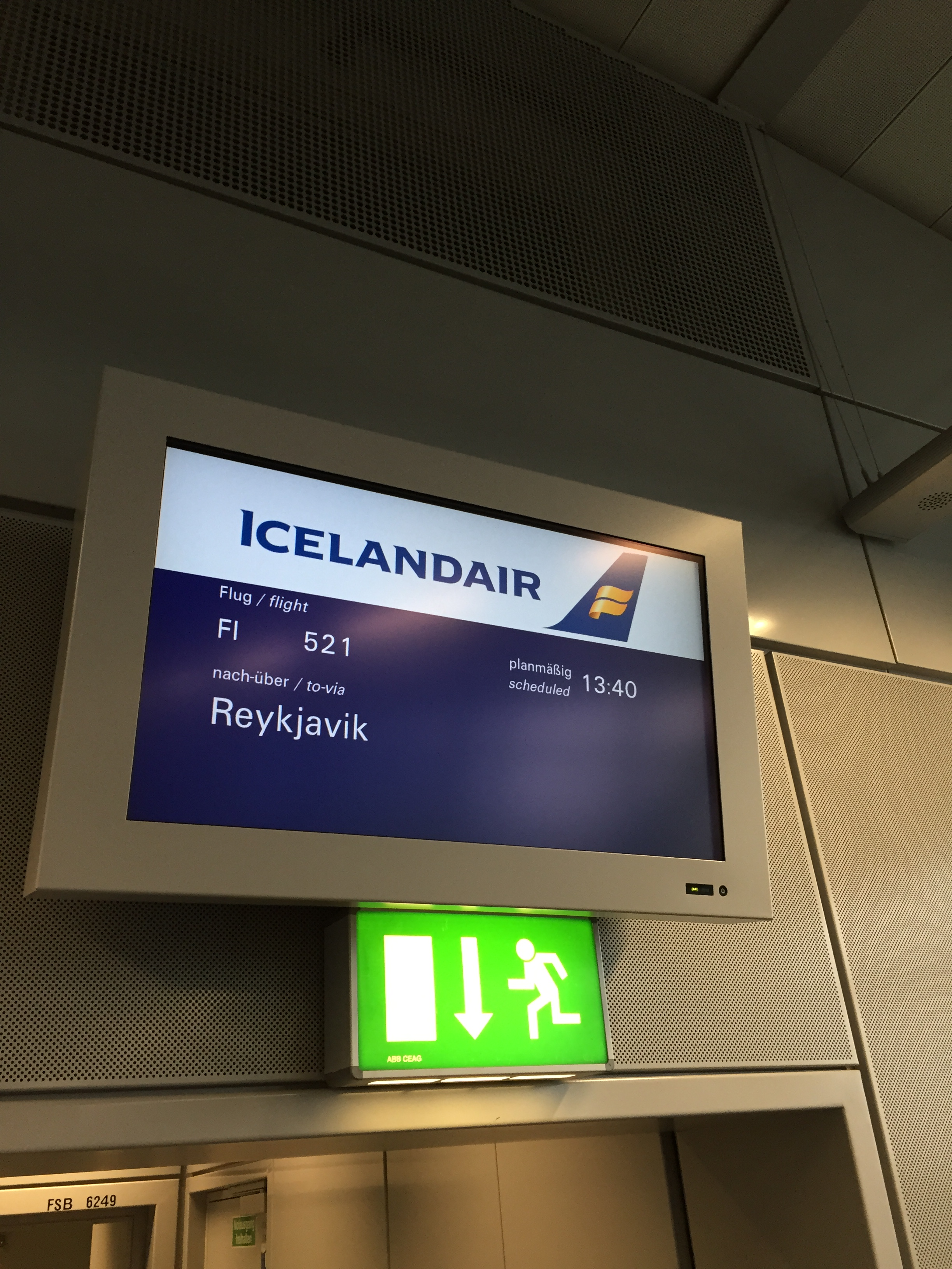Die Business Class von Icelandair
