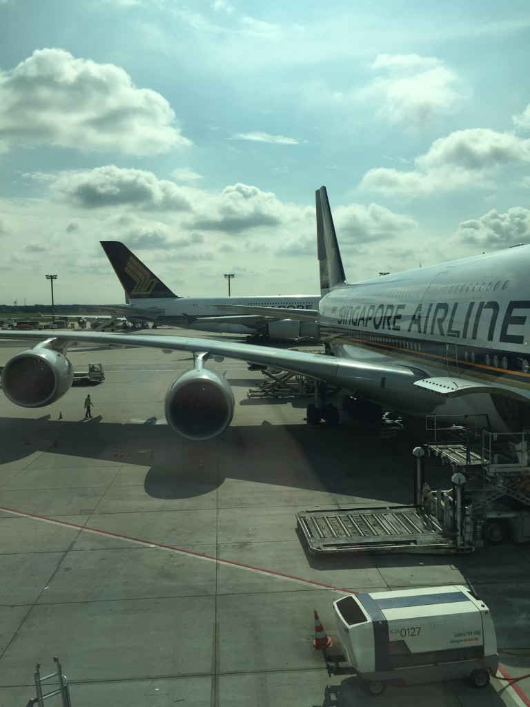 Singapore Airlines nach New York