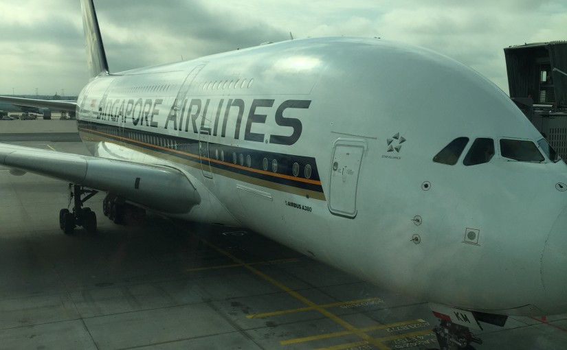 Singapore Airlines nach New York im A380 Economy Class