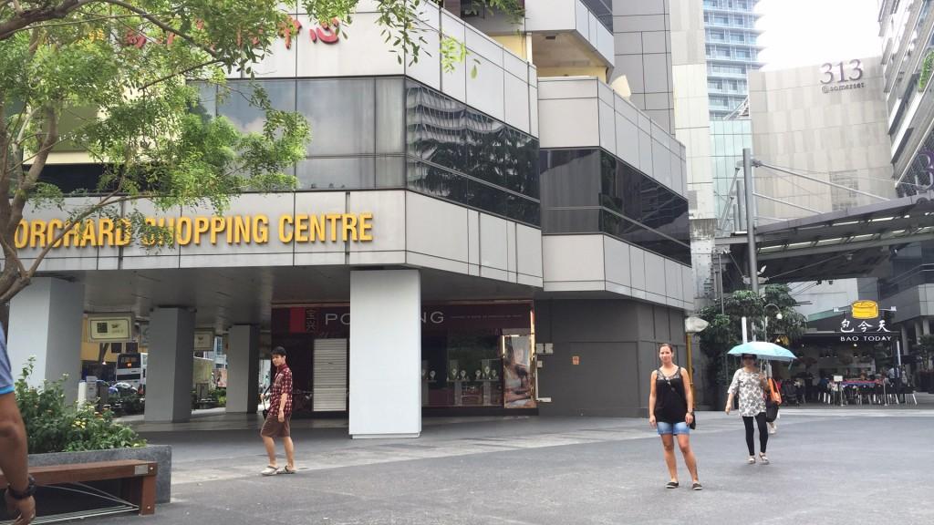 Shopping in Singapur