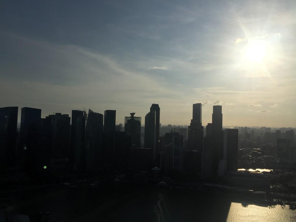 Stadtrundfahrt durch Singapur