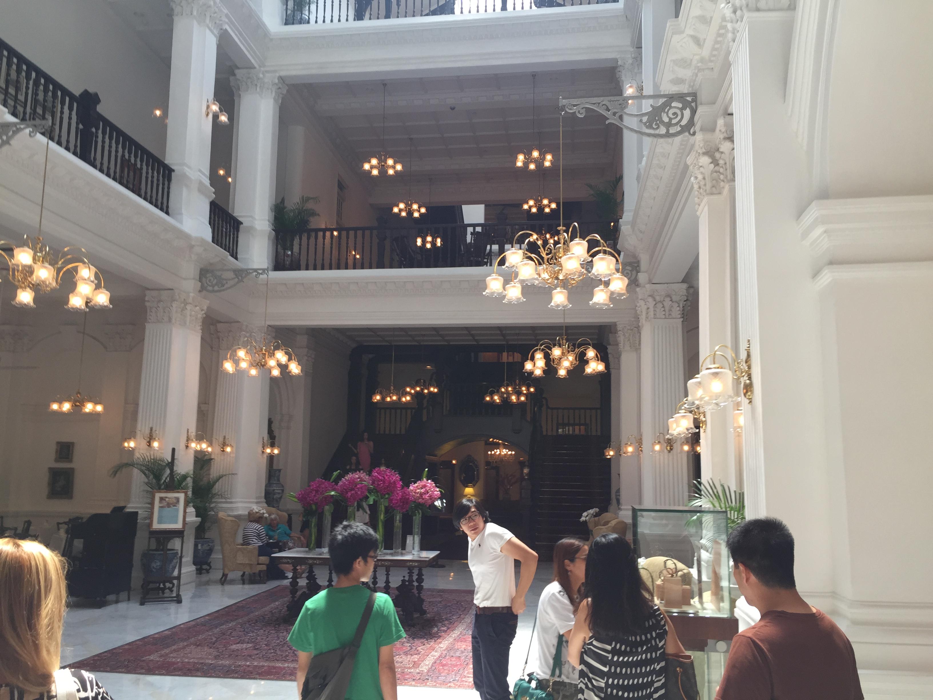 Raffles Hotel mit Singapore Sling