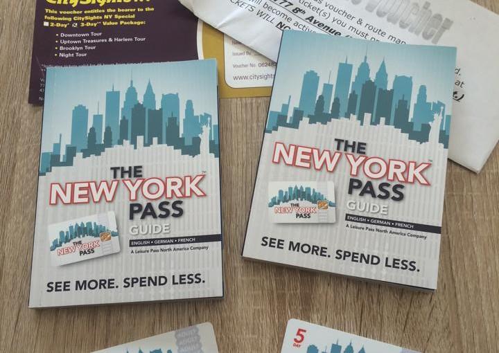 Der New York Pass inkl Hop ON/OFF Bus und seine Vorteile