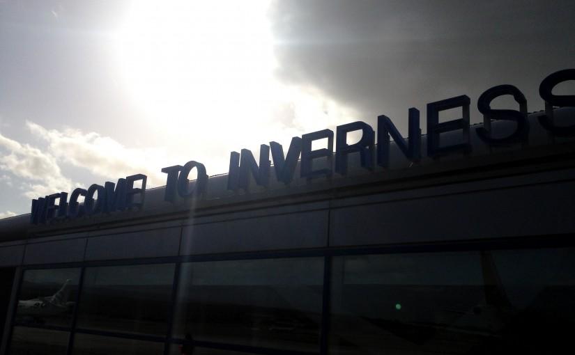 Köln/Bonn - Amsterdam Schipol - Inverness mit KLM und FlyBE