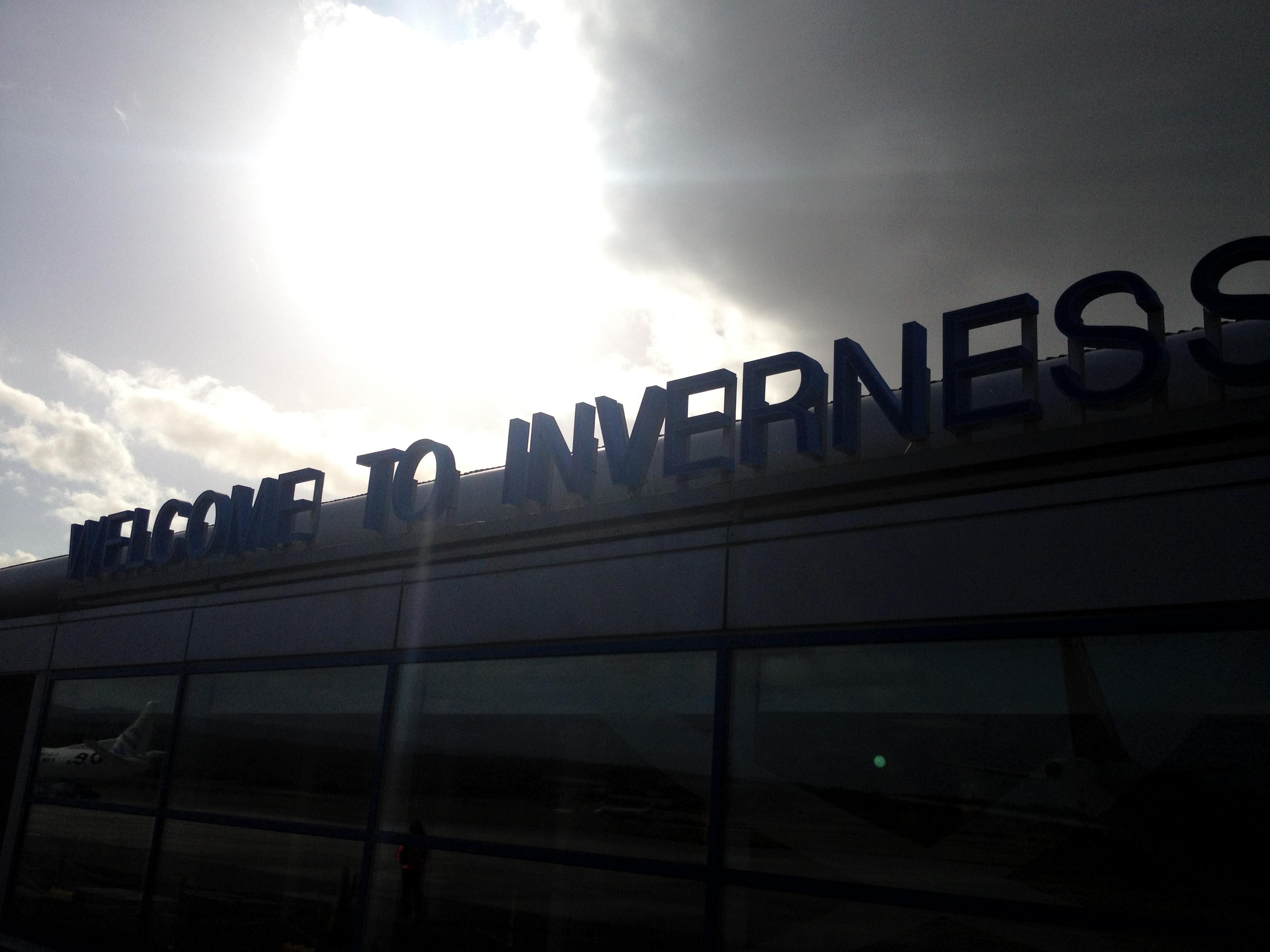 Köln/Bonn – Amsterdam Schipol – Inverness mit KLM und FlyBE