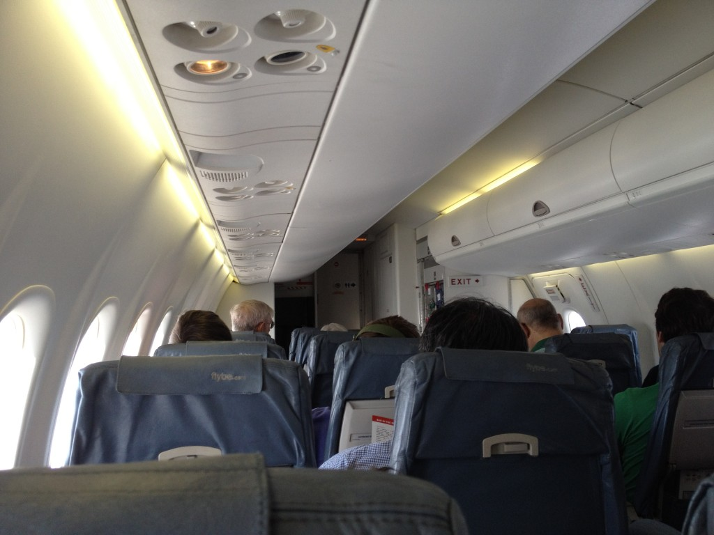 Inverness mit KLM und FlyBE