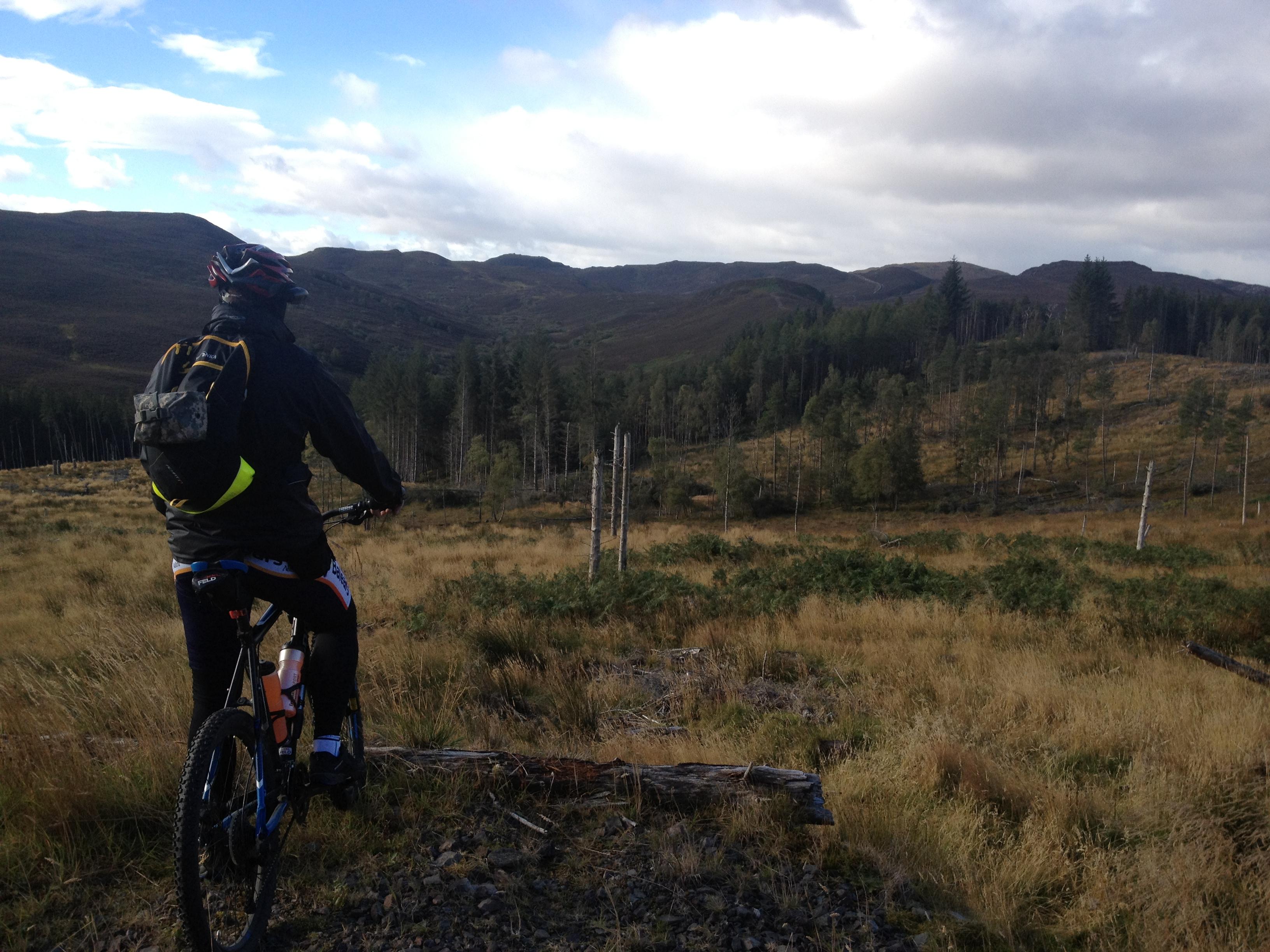 MTB Tour - Loch Bruicheach in den Highlands