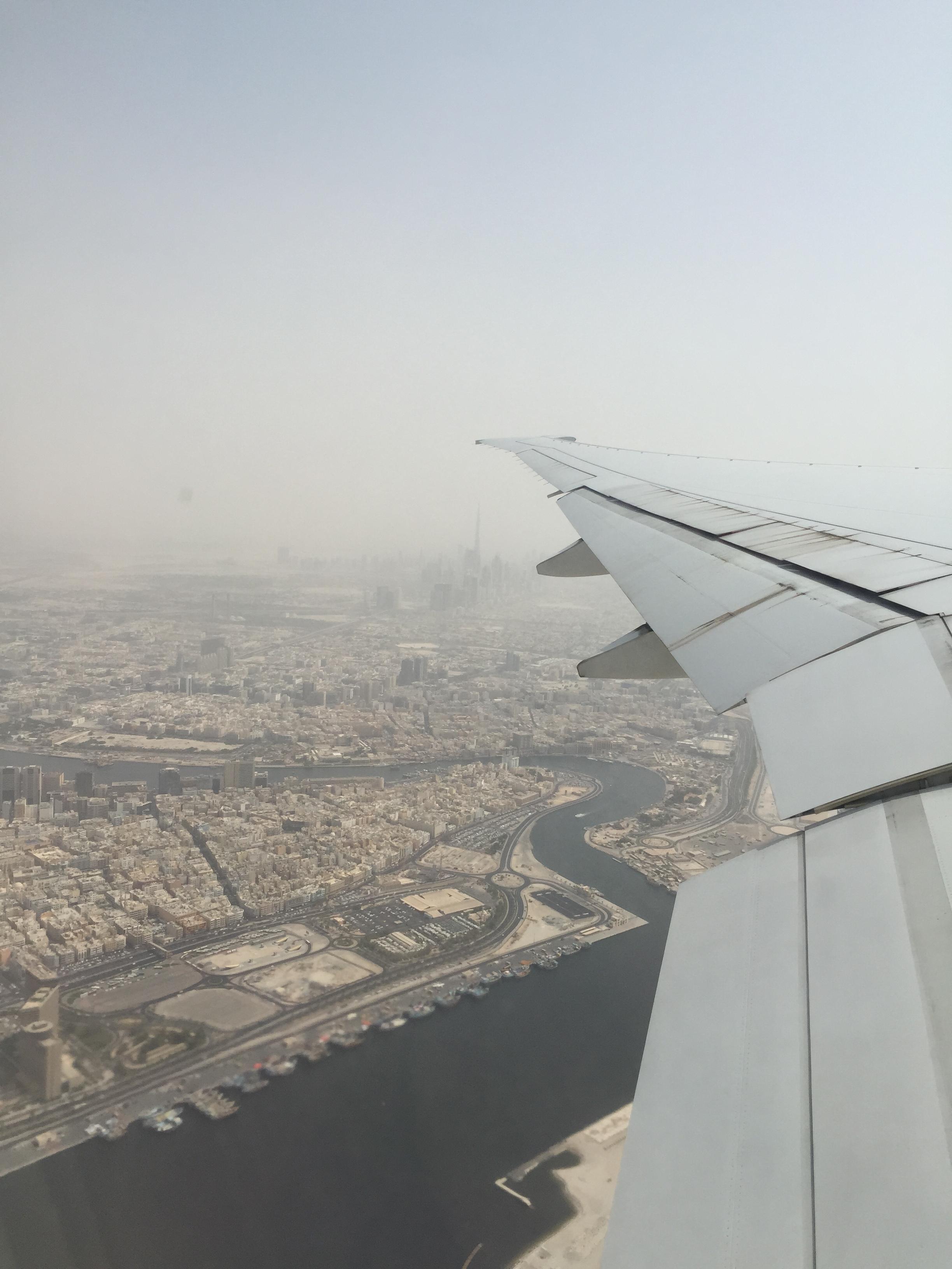 Economy Class von Emirates in der Boeing 777 von Dubai