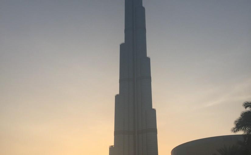Ausflug nach Dubai City - Burj Khalifa und eine Marina Bootstour