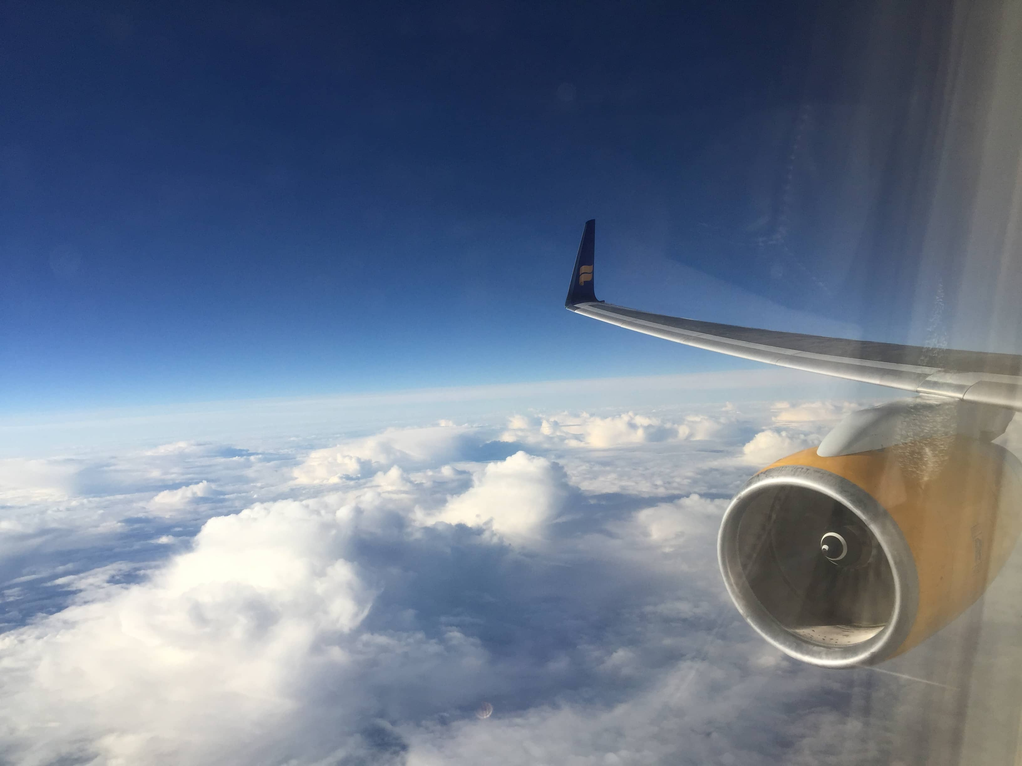 In der Icelandair Business Class nach Frankfurt