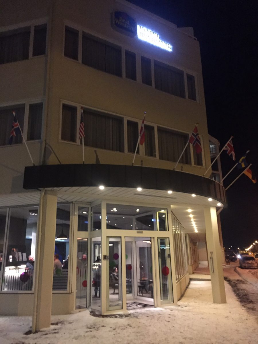 Fosshotel Raudara, ehem. Best Western, Hotel in Reykjavik