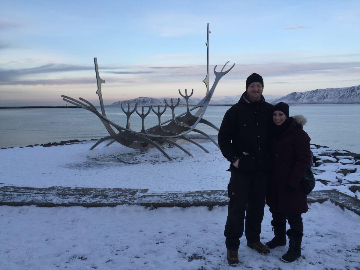 Island im Januar 2016