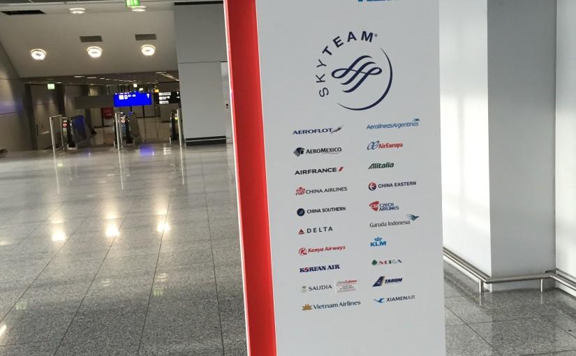 AirFrance/KLM Lounge Frankfurt Flughafen Terminal 2