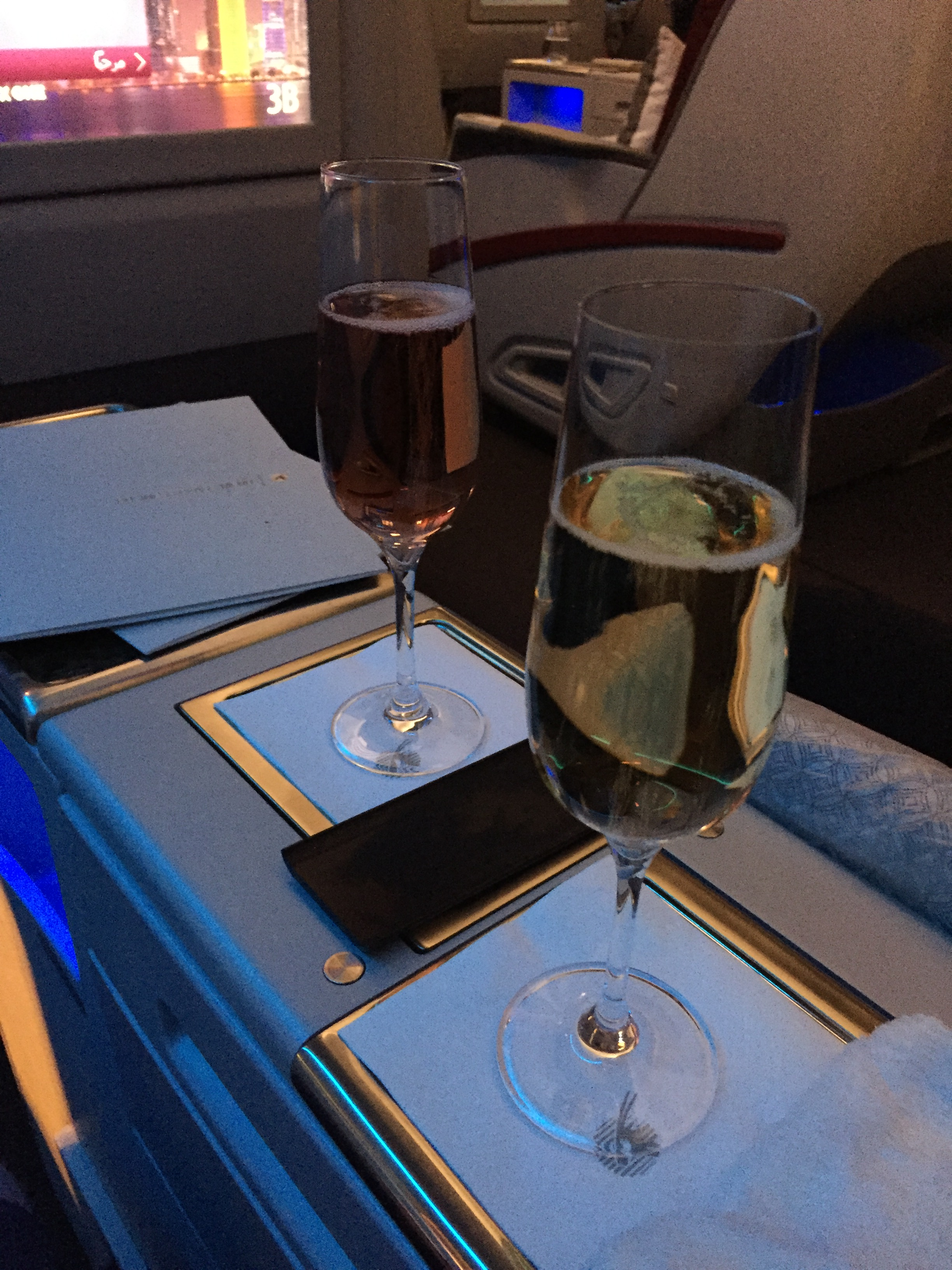 Business Class Flug mit Qatar Airways von Bangkok
