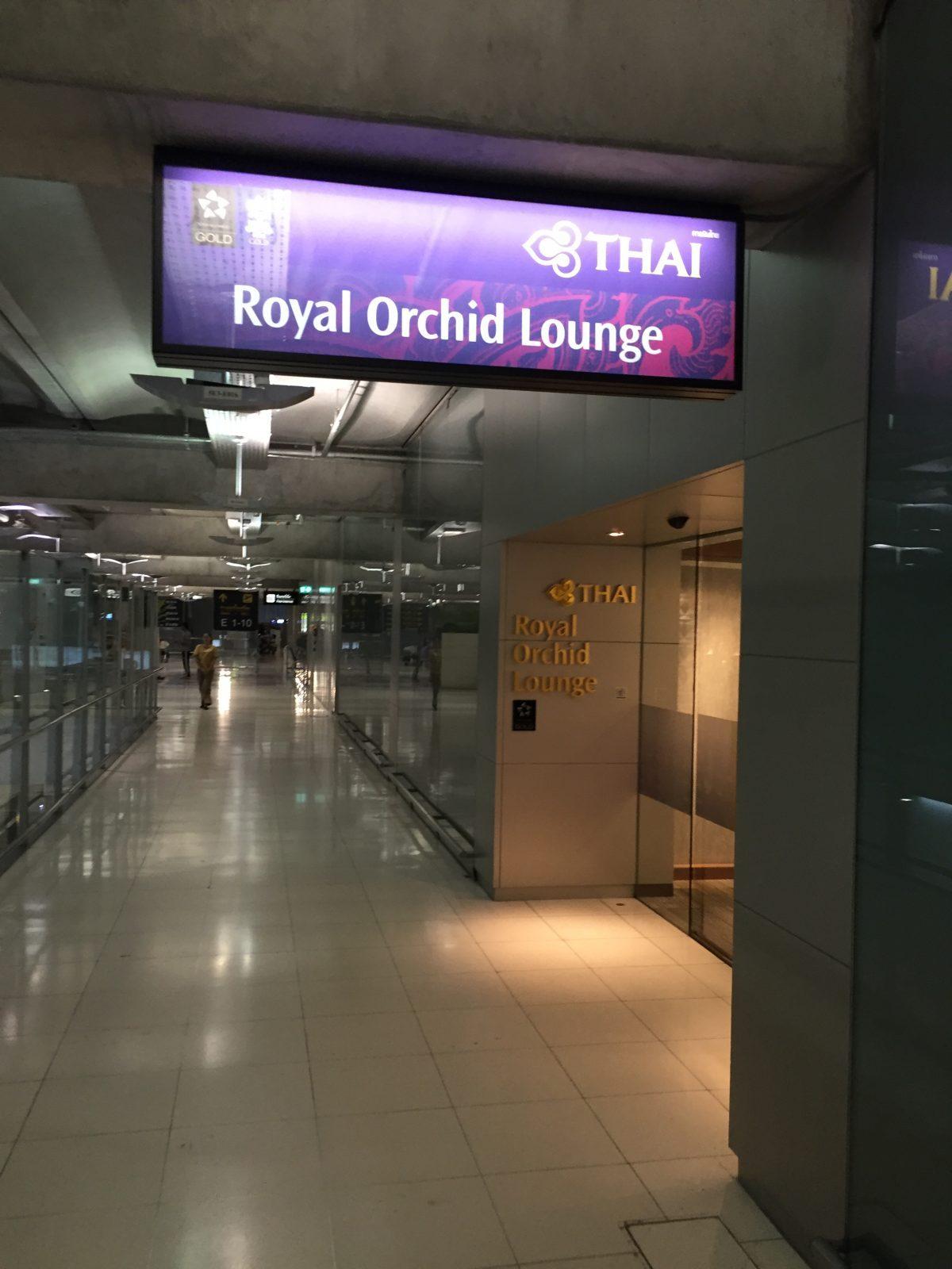 Thai Airways Royal Orchid Lounge Bangkok D - 3.OG