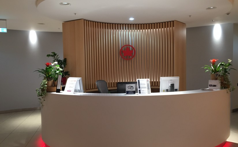 Air Canada Lounge in Frankfurt -Maple Leaf Lounge