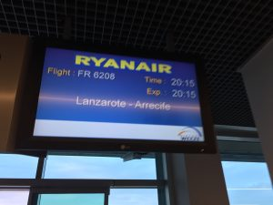Auf nach Lanzarote mit Ryanair