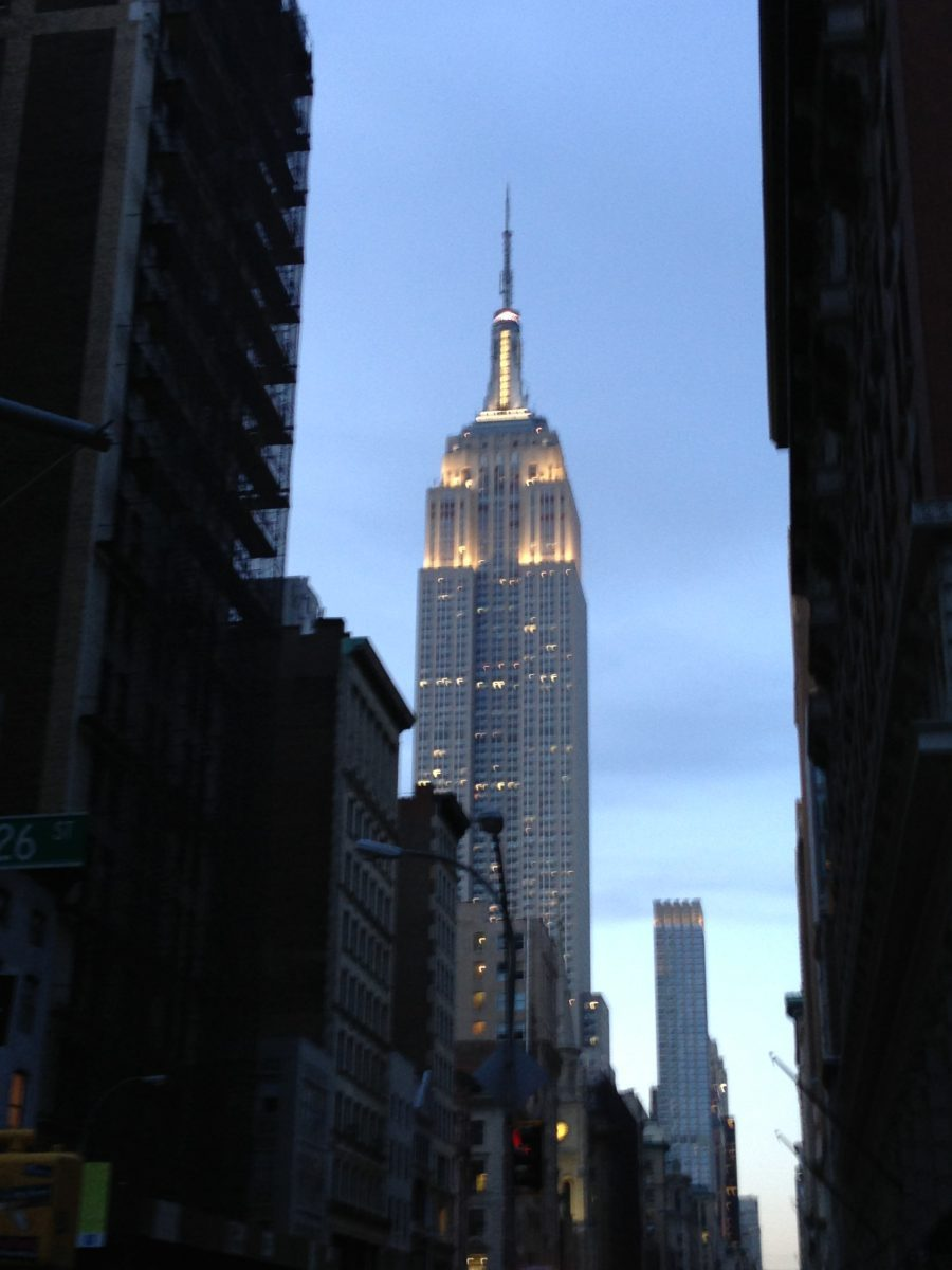 NYC Tag 2 - Empire State Building, 9/11 Memorial, Brookly Bridge, Rockefeller Center, Times Square Nachts