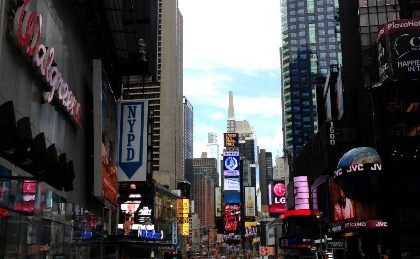 NYC Tag 1 - 42nd Street - Times Square Tag
