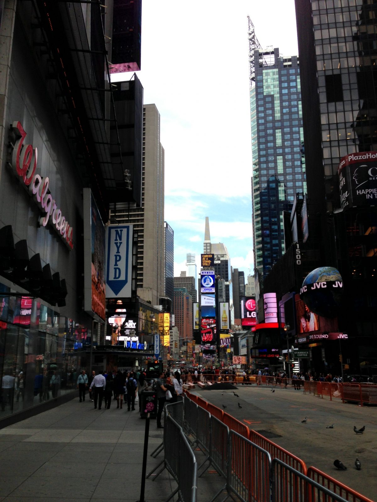 NYC Tag 1 – 42nd Street – Times Square Tag