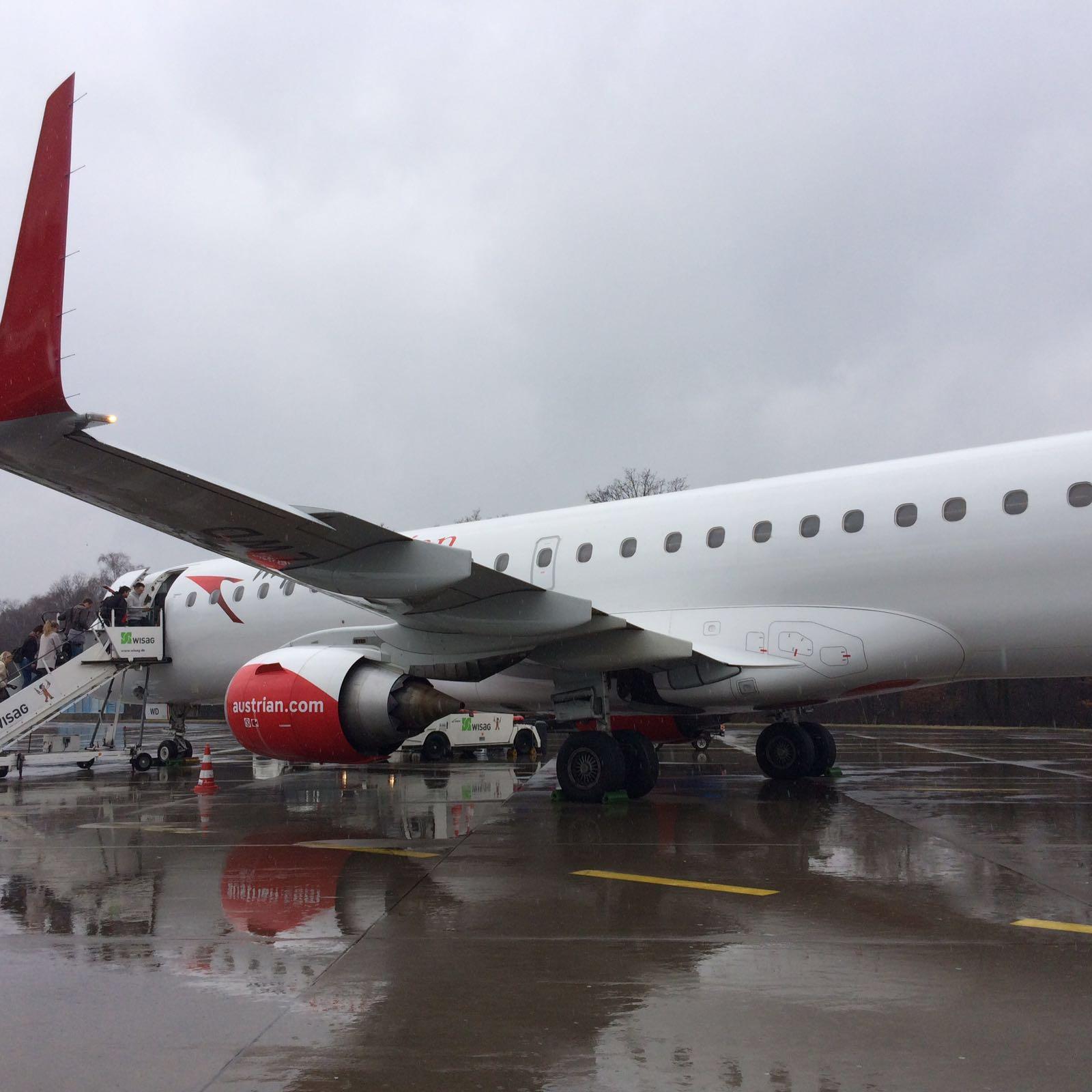 Ein Schöner Flug Mit Austrian Airlines Nach Wien Economy Class