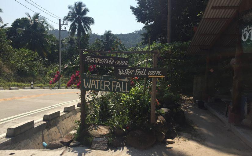Rollertour Tag 1 Thansadet Wasserfall, Thong Nai Pan Noi Strand, 2cbar