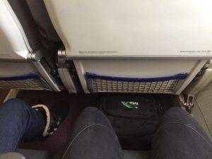 Austrian Airlines von Köln/Bonn - Sitzabstand