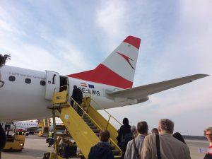 AUA Wien nach Köln/Bonn