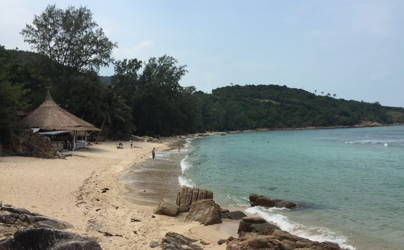 Rollertour Tag 2 - Chaloklum Bay, Coral Beach, Thong Sala Food Market