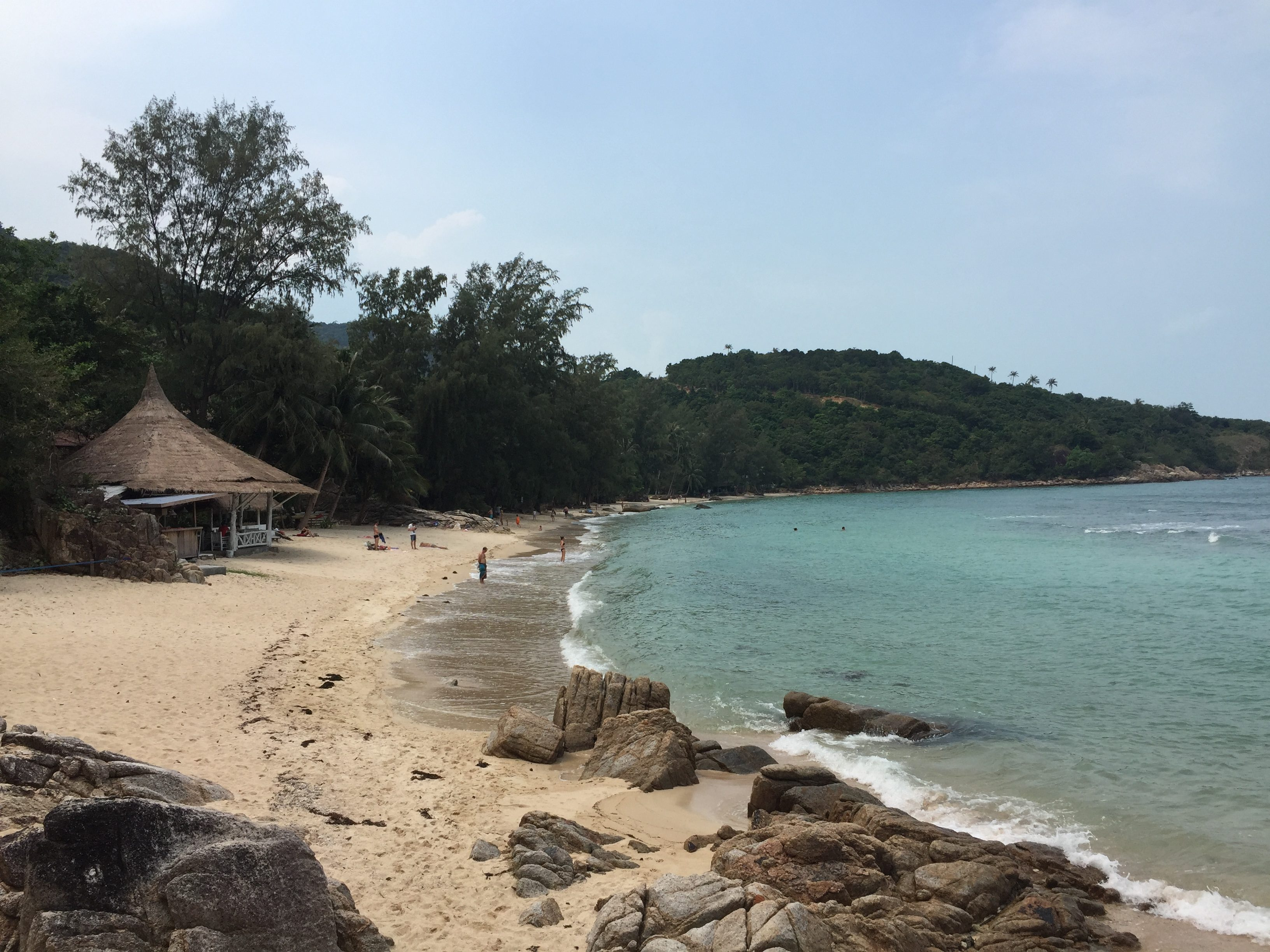 Rollertour Tag 2 – Chaloklum Bay, Coral Beach, Thong Sala Food Market