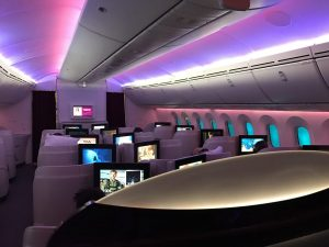 Business Class Qatar Airways