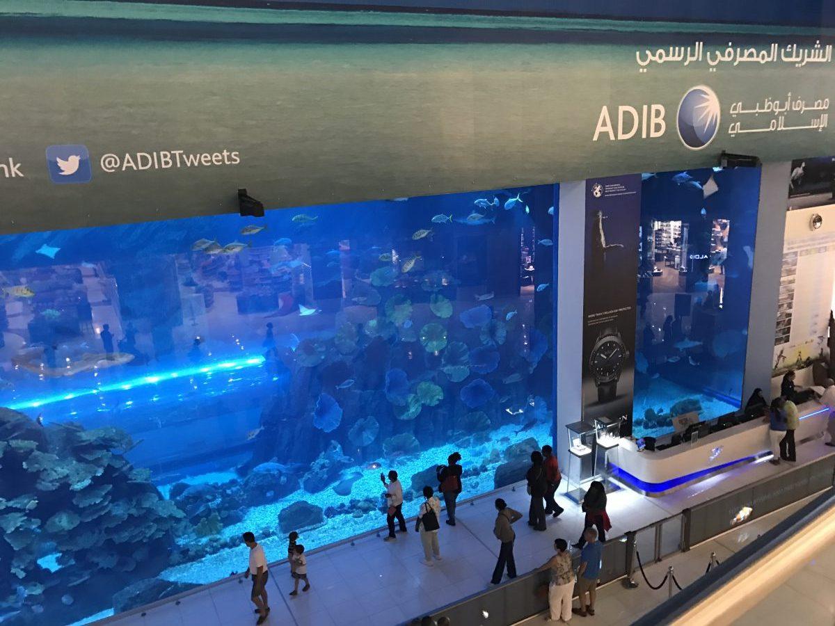 Tagesausflug in Dubai - Burj Kahlifa, Dubai Mall Aquarium, der Gold Souk und die Burjuman Mall am nächsten Morgen