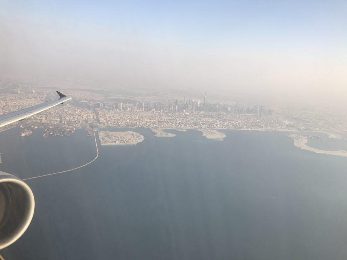 Qatar Airways Arabic First Class im Dubai Doha Shuttle