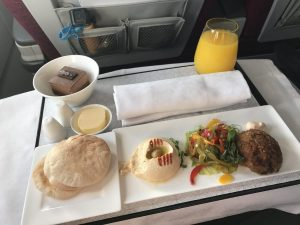 Qatar Airways Arabic First Class