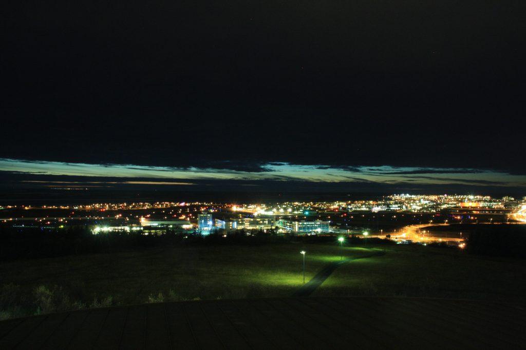 Nordlicht Jagd in Reykjavik - Überall Wolken