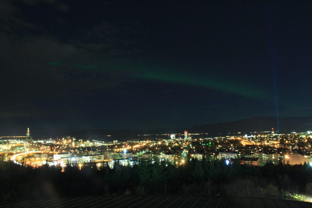 Nordlicht Jagd in Reykjavik - Die Aurora Borealis von ihrer schönsten Seite