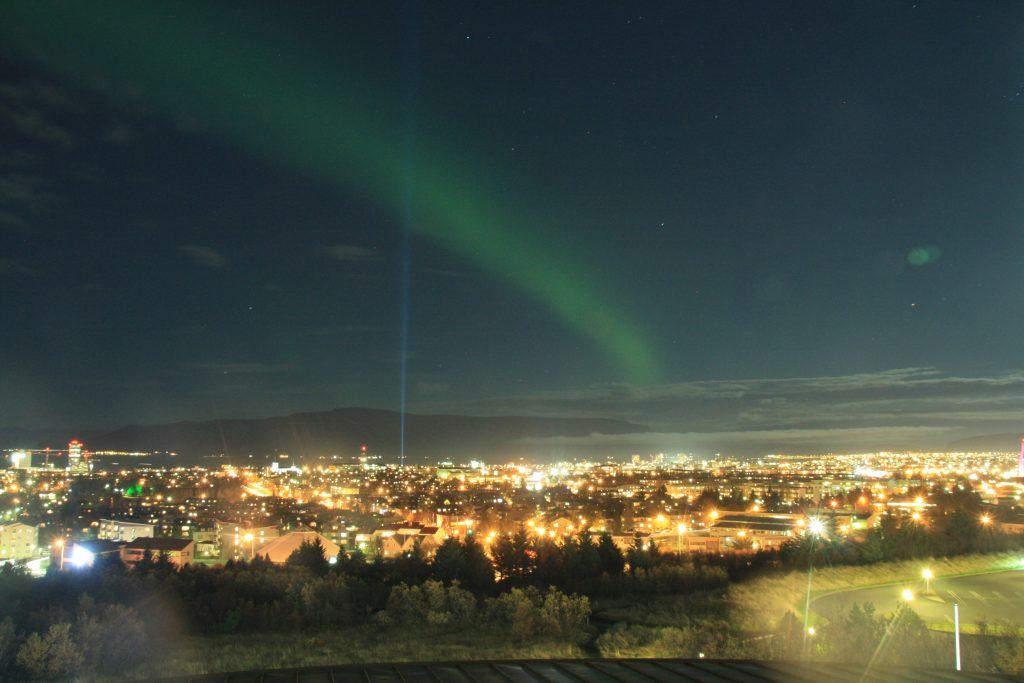 Nordlicht Jagd in Reykjavik