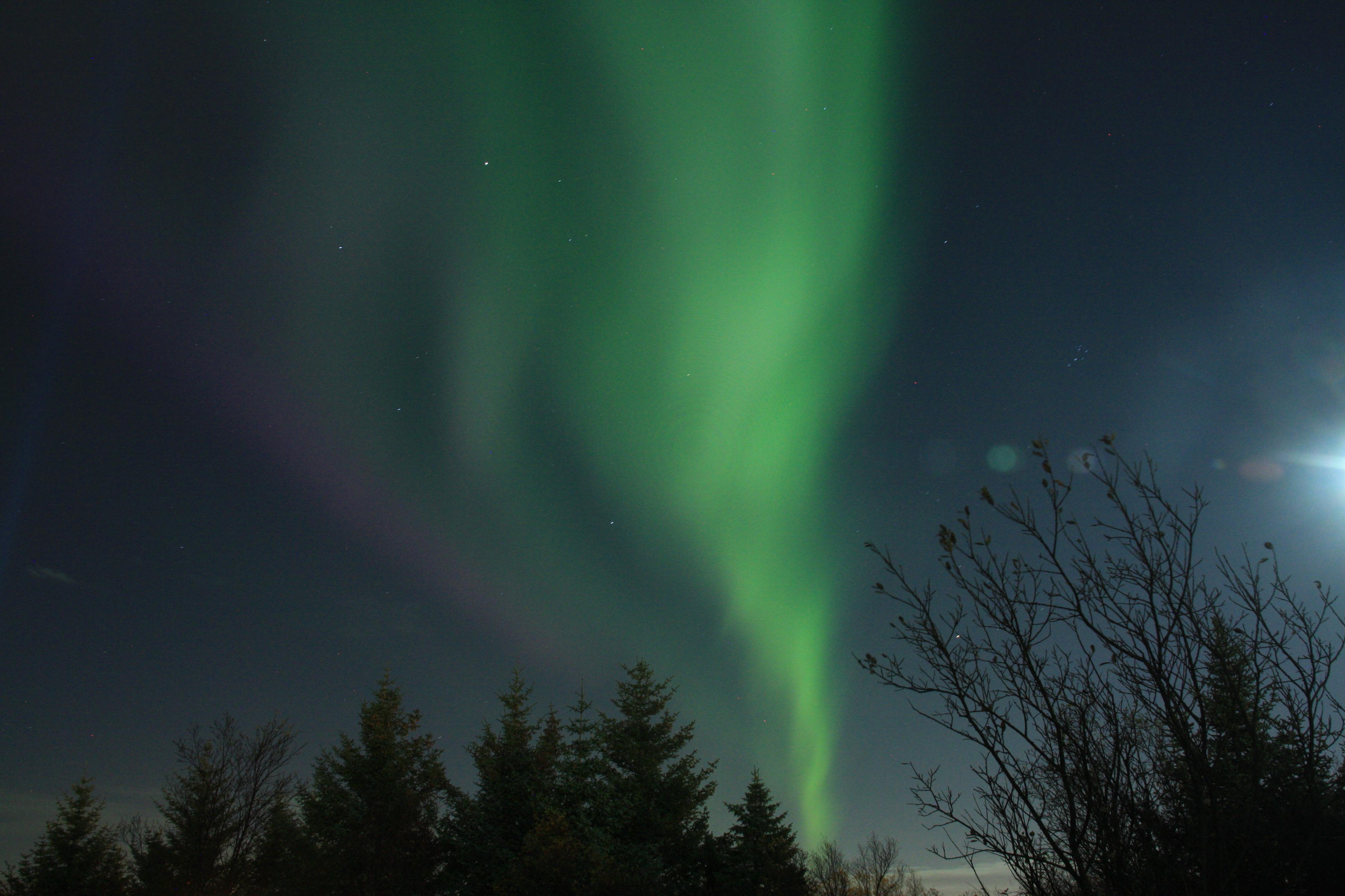Nordlicht Jagd in Reykjavik - Ein Sonnensturm über Reykjavik