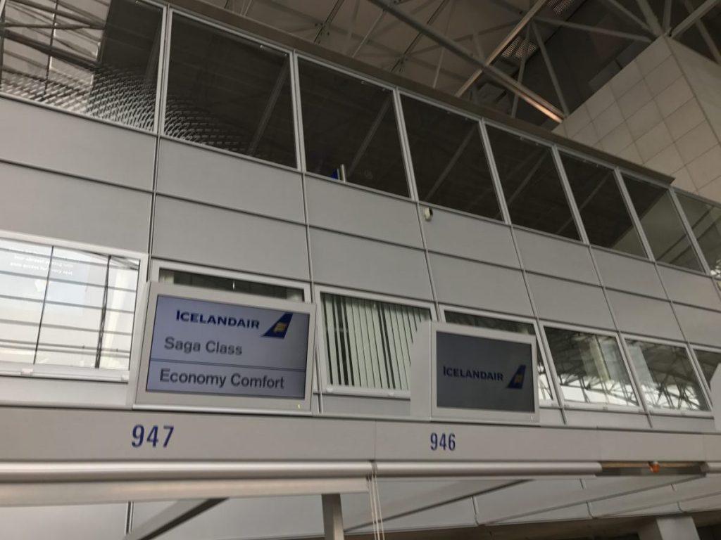 Die Saga Class Business Class von Icelandair