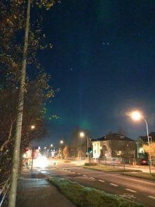 Nordlicht Jagd in Reykjavik - Nordlichter mitten in der Stadt