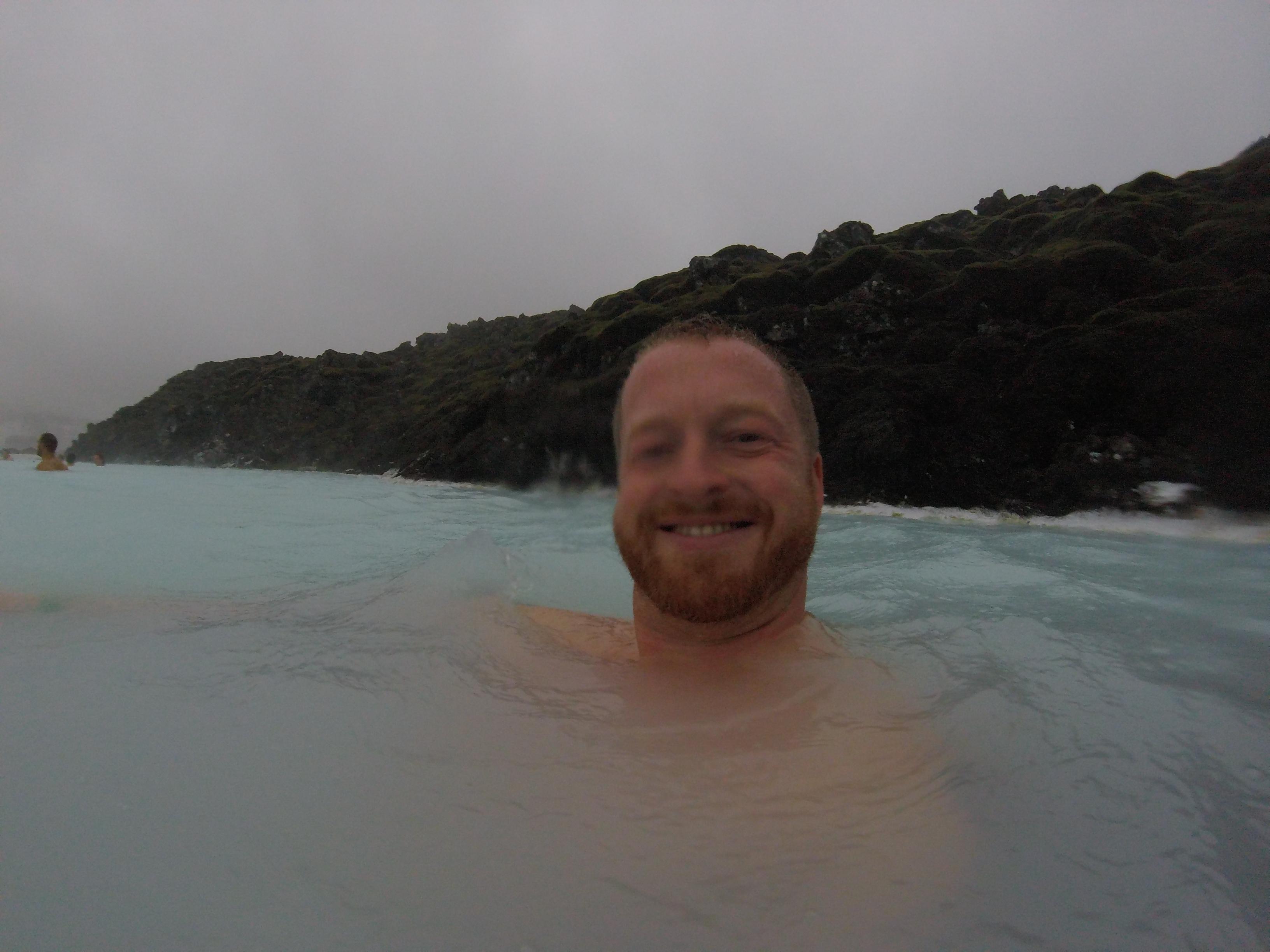 Blaue Lagune im Sturm -