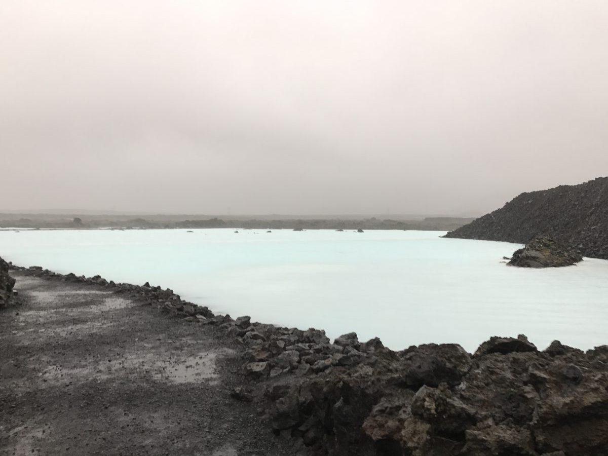 Blaue Lagune im Sturm - Die Blue Lagoon