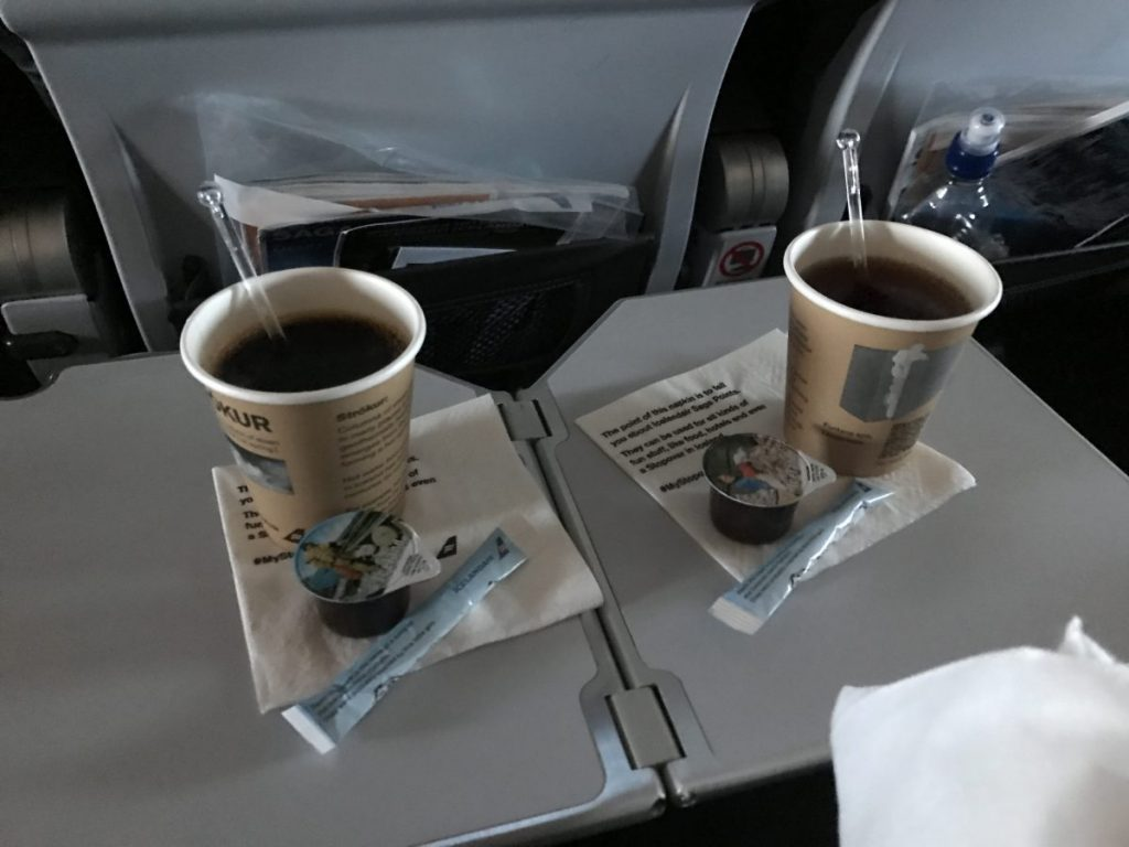 Economy Class von Icelandair