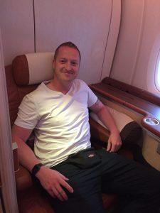 Frankfurt nach Singapur in der Economy Class von Singapore Airlines