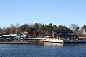 Winterbootstour um Stockholm