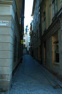 Die Altstadt von Stockholm - Gamla Stan