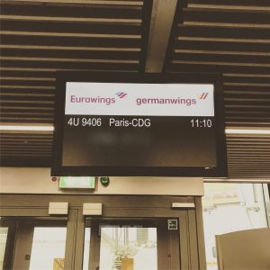 Germanwings nach Paris
