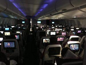 Qatar Airways A380 Business Class nach Doha